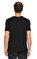 St. Nian Baskı Desen Siyah T-Shirt #5