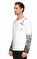 St. Nian Baskı Desen Uzun Kollu Beyaz T-Shirt #4