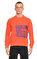 St. Nian Baskılı Turuncu Sweatshirt #1