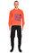 St. Nian Baskılı Turuncu Sweatshirt #2