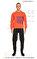 St. Nian Baskılı Turuncu Sweatshirt #7