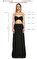 Michael Kors Collection Siyah Gece Elbisesi #5
