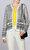 Joie Desenli Siyah Beyaz Hırka