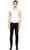 St. Nian Siyah Jean Denim Pantolon