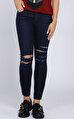 7 For All Mankind Lacivert Jean Pantolon