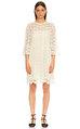 Kate Spade İşleme Detaylı Bej Rengi Elbise