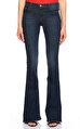 J Brand Geniş Paçalı Lacivert Jean Pantolon