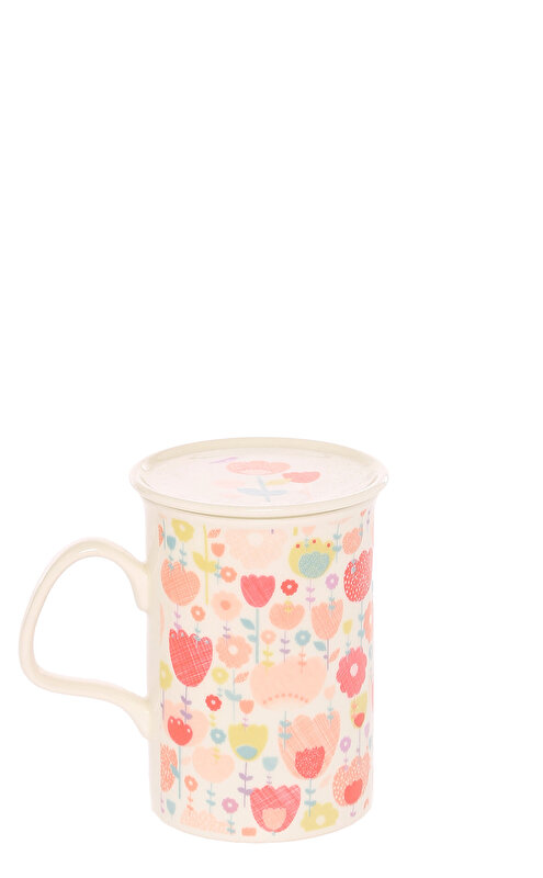 Laura Ashley Tulip Garden Mug in A Giftbox Kupa