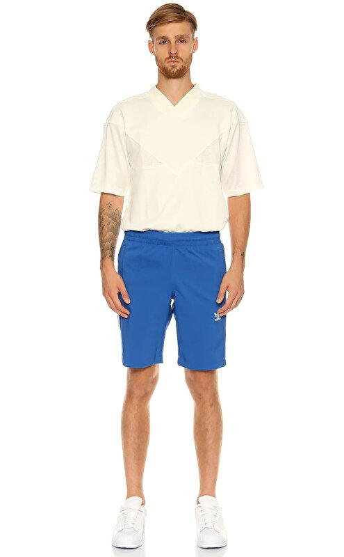Adidas Originals Çizgili Mavi Şort Mayo