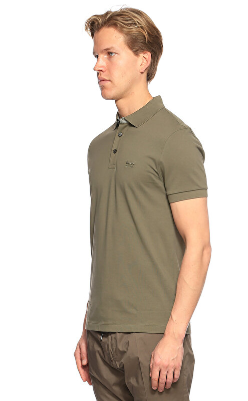 Hugo Boss Haki Polo T-Shirt