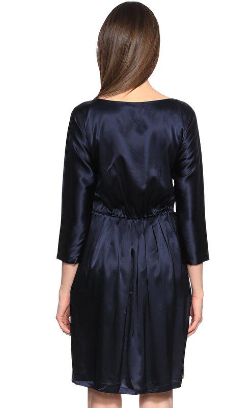 DKNY Lacivert Elbise